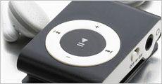 4 GB Mp3 afspiller inkl. høretelefoner, kabler og fragt, værdi kr. 360