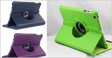 Cover til iPad Mini / Mini 2 fra Beautidesign.dk, vælg ml. flere farver, værdi 398,-