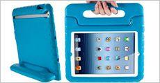 Klogi iPad 2, 3, 4, Air og mini cover til børn, fås i 4 farver, fragt inkluderet, værdi kr. 399