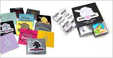 10 pakker á 3 stk Hanky Panky kondomer + surprise, inkl. fragt, værdi kr. 338