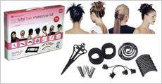 Hair makeover kit forhandlet af Altigaver.dk, normalpris kr. 293,-