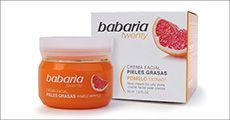 2 stk. Babaria Grapefruit creme til fedtet hud, inkl. fragt, værdi kr. 244
