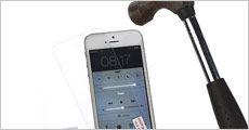 Panserglas skærmbeskyttelse til iPhone fra Smileyphone.dk, værdi 249