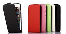 iPhone flipcover til 5, 5S, 6 og 6+ forhandlet af Power2you, værdi kr. 249,-