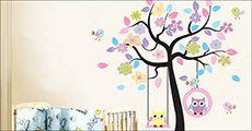 Wallsticker til børneværelset, inkl. fragt, værdi kr. 349