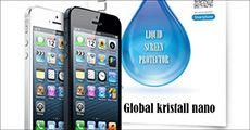 Global Kristall Nano Screen Protector, inkl. fragt, værdi kr. 314