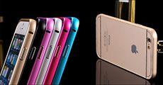 iPhone aluminiums cover til 4/4S, 5/5S og 6/6+ forhandlet fra 4mobil, værdi kr. 218,-