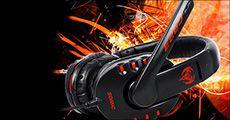 Kinbas gamer headset med surround-sound og mikrofon, inkl. fragt, værdi kr. 344