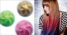 4 valgfrie Color Rub farver til håret, inkl. fragt, værdi kr. 319