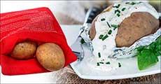 1 stk. Mikropose til kartofler/majs, inklusiv fragt, værdi kr. 189