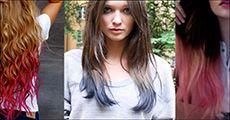 1 pakke med 24 farvekridt til håret, inklusiv fragt, værdi kr. 229