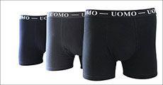 UOMO boxershorts forhandlet fra Houseandgardenshop, værdi op til kr. 1068
