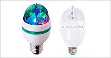 LED-discopære forhandlet fra 4mobil.dk, normalværdi kr. 214,-