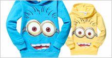 1 stk. Minion hoodie trøje forhandlet fra 4mobil.dk, værdi kr. 413,-