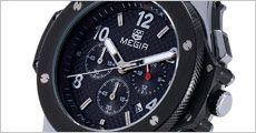 Sporty herreur MEGIR forhandlet fra Watches4you.dk, værdi kr. 1299,-
