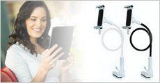 Universal-holder til mobil og tablet, inkl. fragt, værdi kr. 499