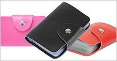 Kreditkort-holder forhandlet af Ze-thing, inkl. fragt, værdi kr. 224