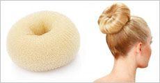 2 stk. hår Donut Buns inklusiv levering, værdi kr. 210
