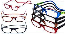 Smart magnetisk brille, justerbar længde, inkl. fragt, værdi kr. 217,-