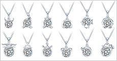 Swarovski stjernetegns halskæde fra Stonevangproducts, værdi kr. 499,-