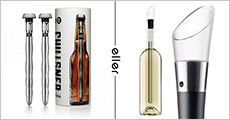 1 stk. vin chill sticks + 2 stk. øl chillsners, inkl. fragt, værdi kr. 798