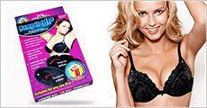 2 stk. brystforstørrende indlæg forhandlet fra Ze-thing.com, værdi kr. 360,-