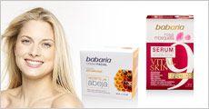 Babaria anti-age ansigtscreme m. bigift og rosa musk 9 effekt serum fra JBR Dent IVS, værdi kr. 585,-