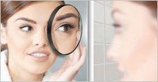 10X forstørrelses-spejl forhandlet fra Ze-thing.com, værdi kr. 120,-
