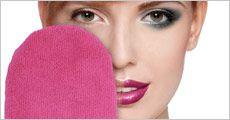 Make-up fjerner handske forhandlet fra Ze-thing.com, værdi kr. 148,-