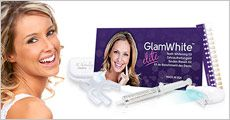 Teeth Whitening Elite Kit fra GlamWhite, værdi kr. 655,-