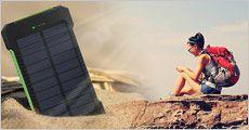 Solar Powerbank fra Stonevang Products, værdi kr. 249,-