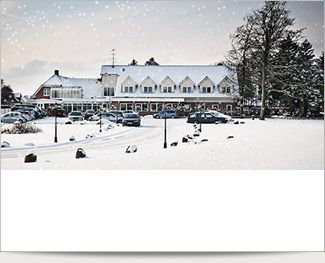 Skønt julearrangement m. overnatning for 2 på Fangel Kro & Hotel