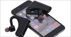Frewico LR2 trådløse høretelefoner i sort, værdi kr. 699,-