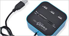 1 stk. USB Hub fra Stonevang Products, værdi kr. 229,-