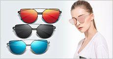 CAT-EYES solbrille fra House of Hansen m. eller u. opbevaringsboks, vælg ml. flere farver, værdi op til kr. 279,-