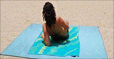 Strandtæppe fra House of Hansen, vælg ml. 2 tilbud, værdi op til kr. 998,-