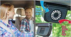 Køleblæser til bilen fra House of Hansen, vælg ml. 1 el. 2 stk., værdi op til kr. 598,-