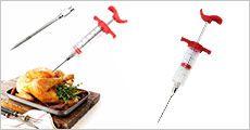 Injektions-sprøjter til madlavningen fra House of Hansen, vælg. ml. 1-3 stk., normalpris op til kr. 447,-