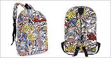 Canvas skoletaske fra 4mobil, vælg ml. flere motiver, værdi kr. 299,-