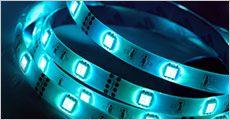 1 stk. LED strip med stemningslys, fjernbetjening medfølger, fragt inkluderet, værdi kr. 199,-