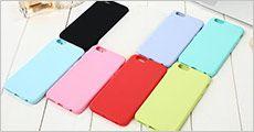 iPhone bagside cover, marcaron-farvet, inkl. fragt, værdi kr. 149,-