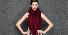 1 stk. cashmere tørklæde inkl. fragt, værdi kr. 799,-