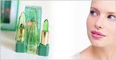 2 stk. Aloe Vera læbepomader, inkl. fragt, værdi kr. 198,-