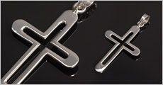 Kors i ægte 925 sølv fra Beautidesign, værdi kr. 398,-