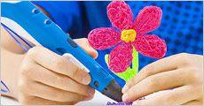 3D pen, inkl. fragt, værdi kr. 999,-
