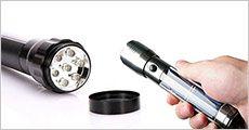 1 stk. solar lommelygte fra Stonevang Products, værdi kr. 329,-