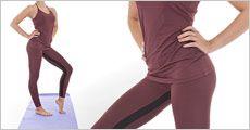 To-farvet leggings samt Ruby top fra Victoria Beauty, værdi kr. 1035,-