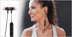 1 stk. bluetooth sports høretelefoner fra Modane, værdi kr. 399,-
