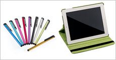 iPad cover 360 + 3 touchpenne fra Smileyphone, værdi kr. 499,-