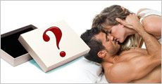 Mystery Romantik-boks med 5-7 forskellige erotiske produkter, værdi min. 1199,-